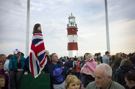Following the Olympic Torch