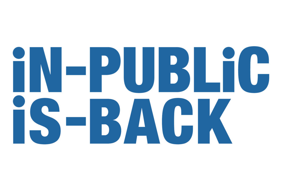 20th Anniversary relaunch of iN-PUBLiC