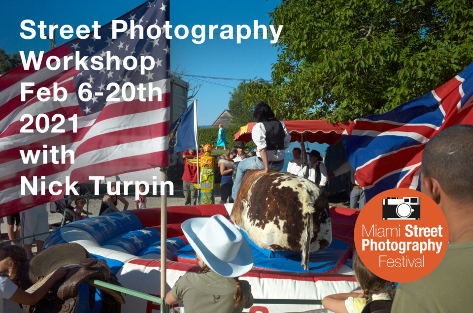 Online Street Photography Workshop with Nick Turpin